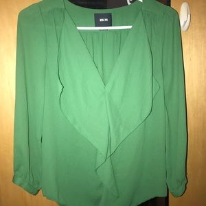 Green Maeve dress shirt